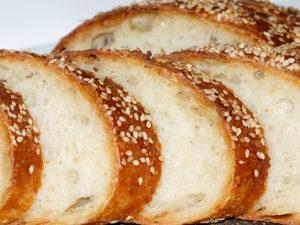 Хлеб с кунжутом / Sesame bread / Pane al sesamo / Разрез