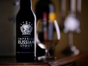 Российский императорский стаут пивоварни Stone Brewing